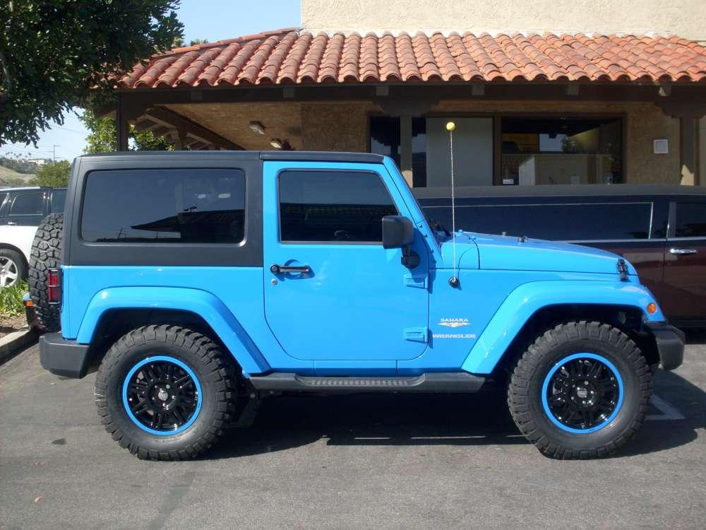 Jeep Wrangler Sahara Car Stereo Installation
