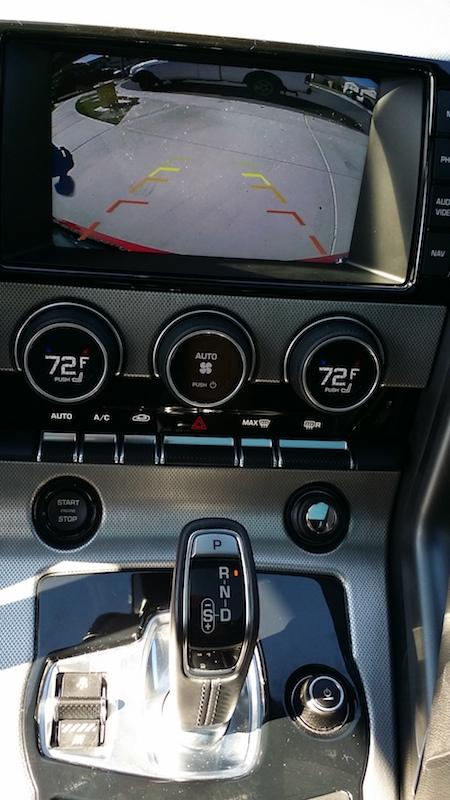 Car Tracking Device >> 2015 Jaguar F-Type - Backup Camera Installation - Audiofonixx - Car Audio & Stereo Installation ...