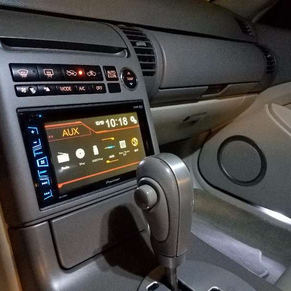 Car Tracking Device >> Infiniti G35 JDM Double Din Dash Kit Installation ...